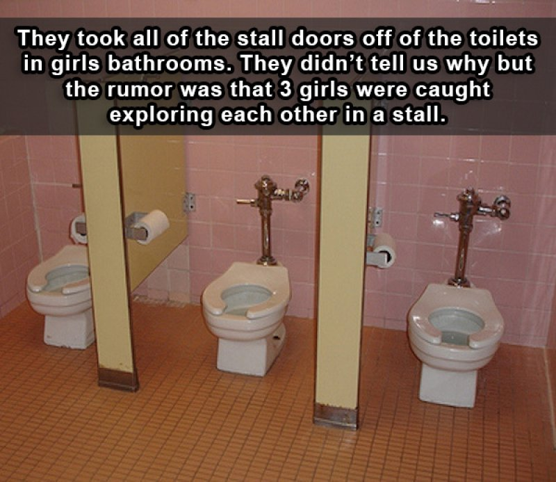 This Awkward Fix by a School Management-15 People Reveal The Craziest Scandals That Happened In Their High School