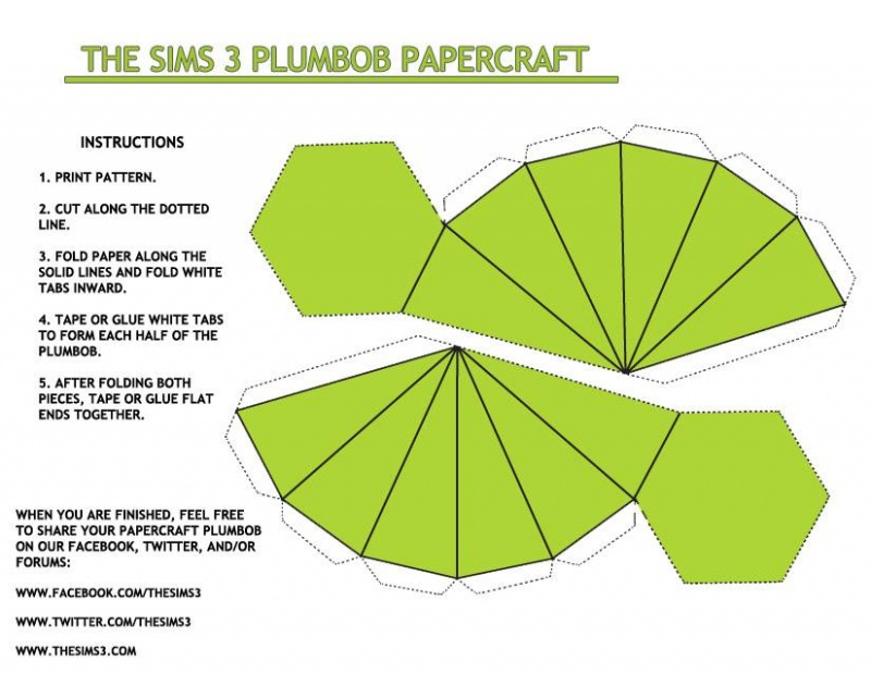 The Sims Plumbob/Diamond Halloween Costume-Simple Halloween Costumes You Can Make Within A Day