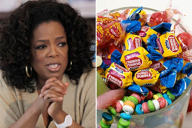 Oprah Winfrey – Fear of Chewing Gums-15 Celebrities With Weird Phobias