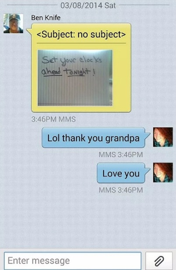 When You Can't Type on a Smartphone-15 Hilarious Texts From Grandparents
