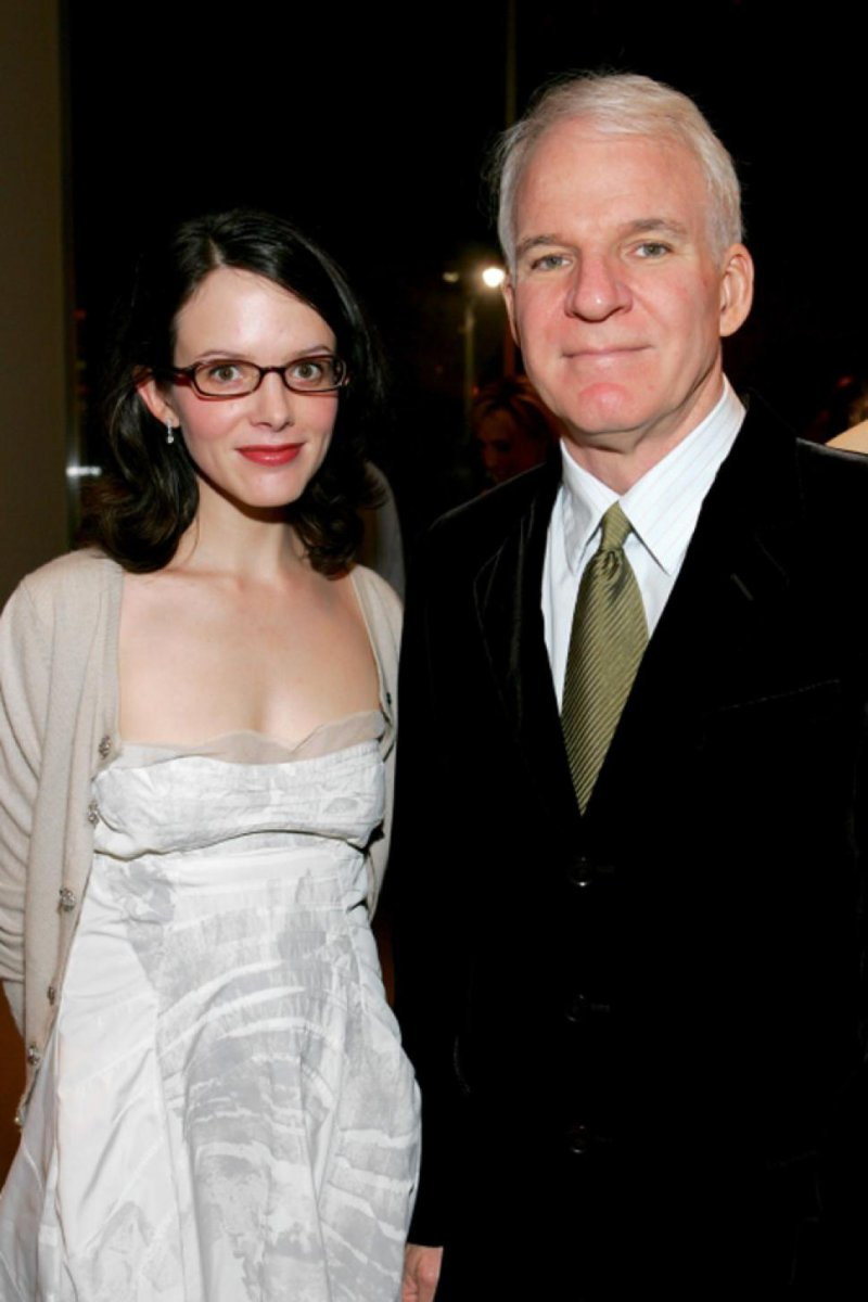 Steve Martin & Anne Springfield-15 Celebrity Couples With Unbelievably Big Age Gaps