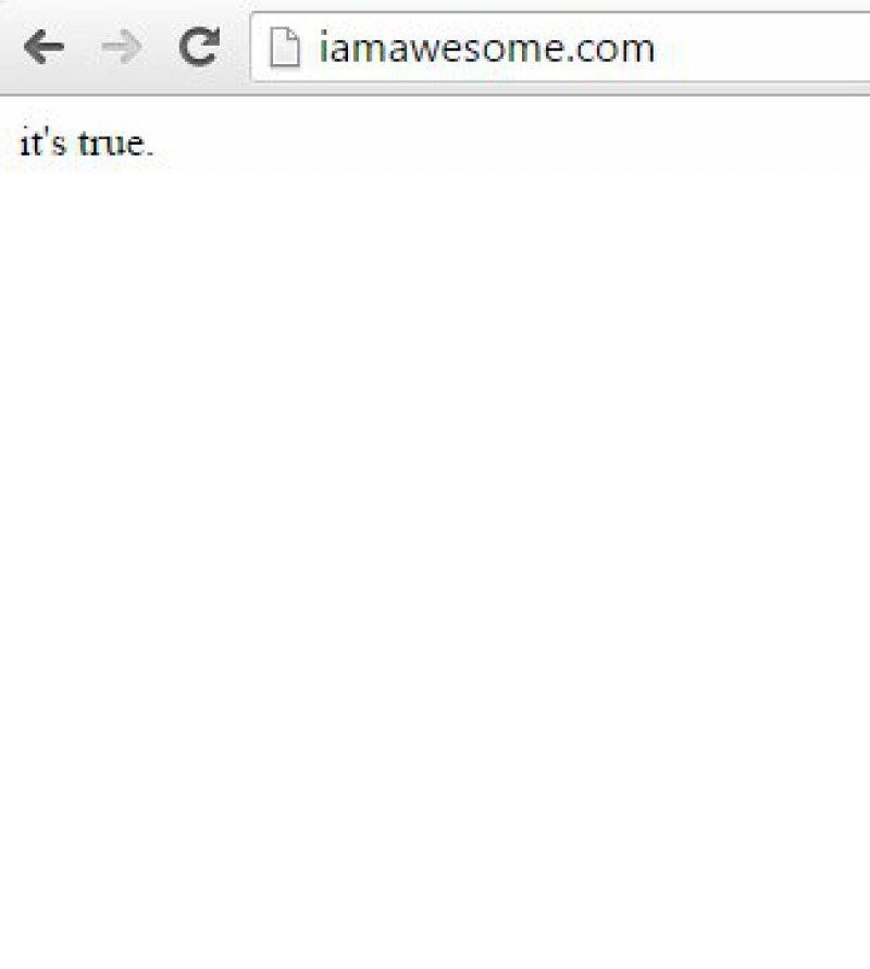 IamAwesome.com-15 Most Useless And Pointless Websites On Internet