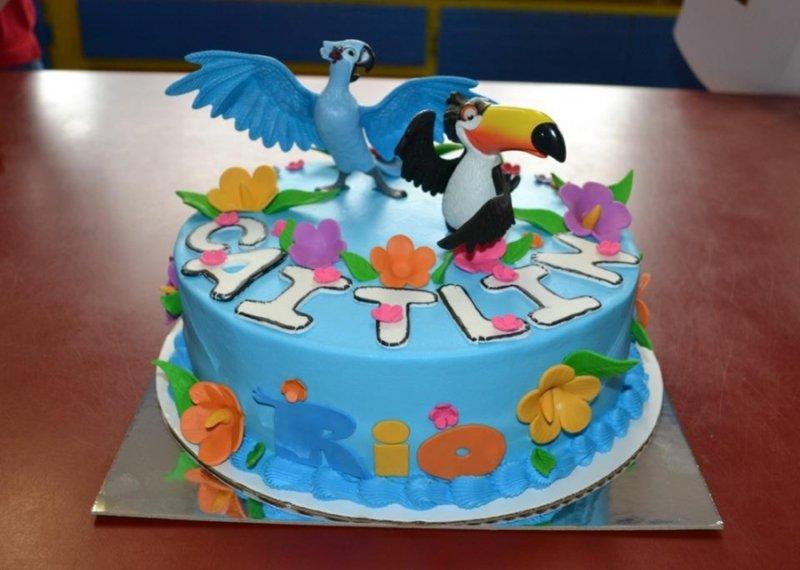 Rio Cake-15 Amazing 3D Cartoon Model Cakes Ever