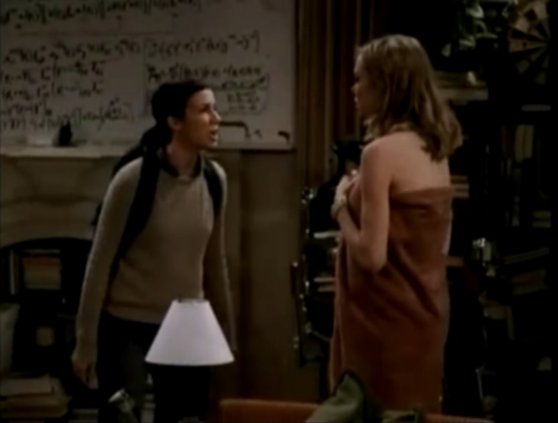 Gilda meets Katie-The Big Bang Theory Unaired Pilot Episode