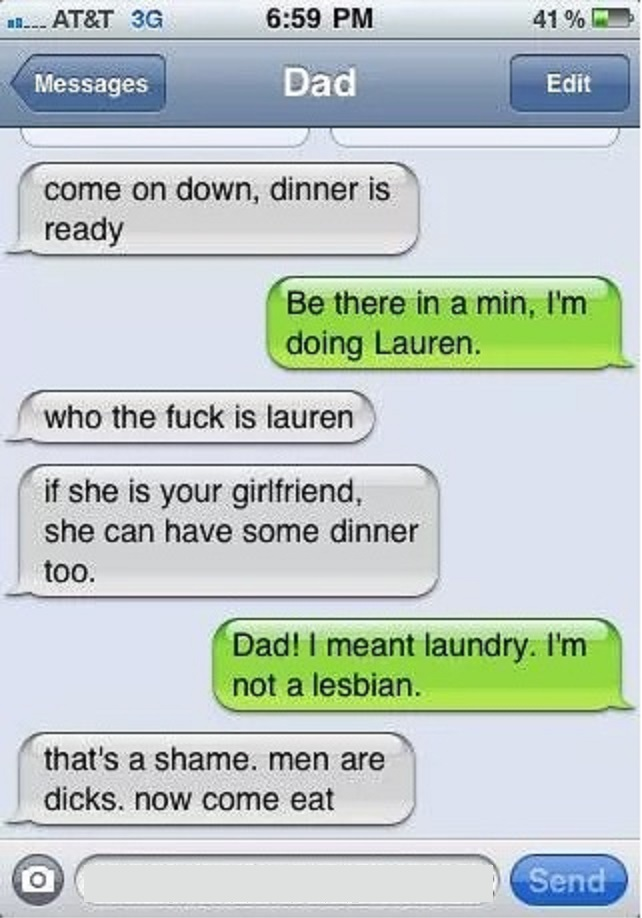 This Dad Hates Men-15 Hilarious Texts From Dads