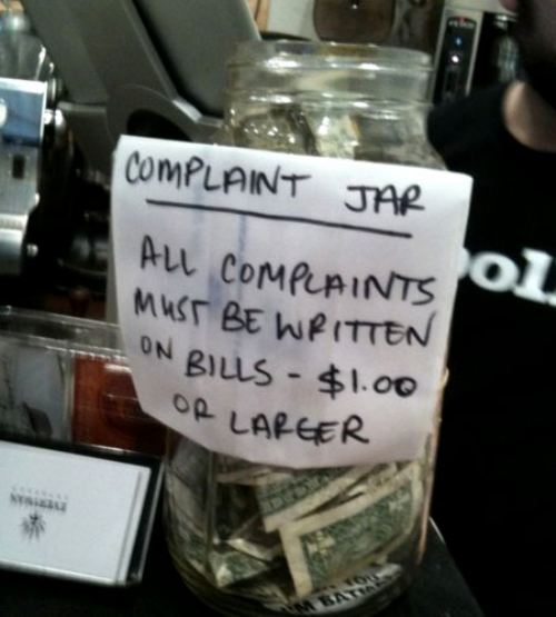 This Wins the World's Best Tip Jar Hands Down-15 Funniest Tip Jars You'll Ever See