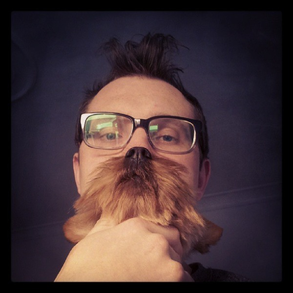 The Genius Look-15 Epic Dog Beards That Will Make You Want To Have One