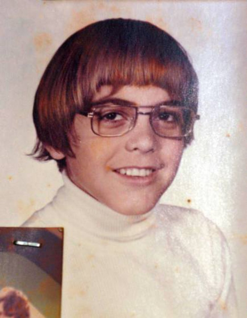 George Clooney-15 Cutest Childhood Photos Of Famous Celebrities