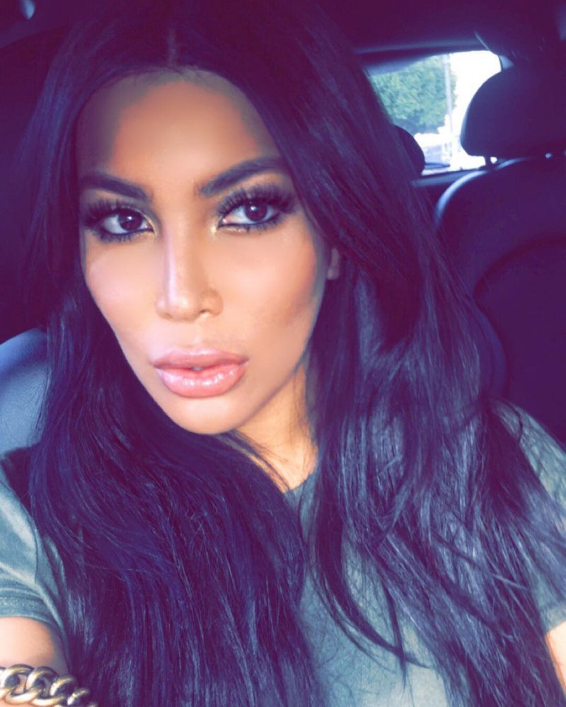 She Is Probably The Only Woman On Earth That Look Closest To Kim Kardashian-15 Images Of Kim Kardashian's Doppelganger Kamilla Osman That Will Confuse The Hell Out Of You