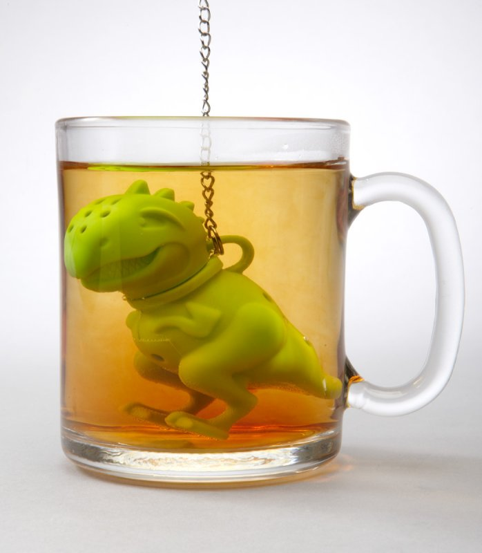 'Tea-Rex' takes a Bath-15 Tea Infusers Those Are Amazingly Adorable