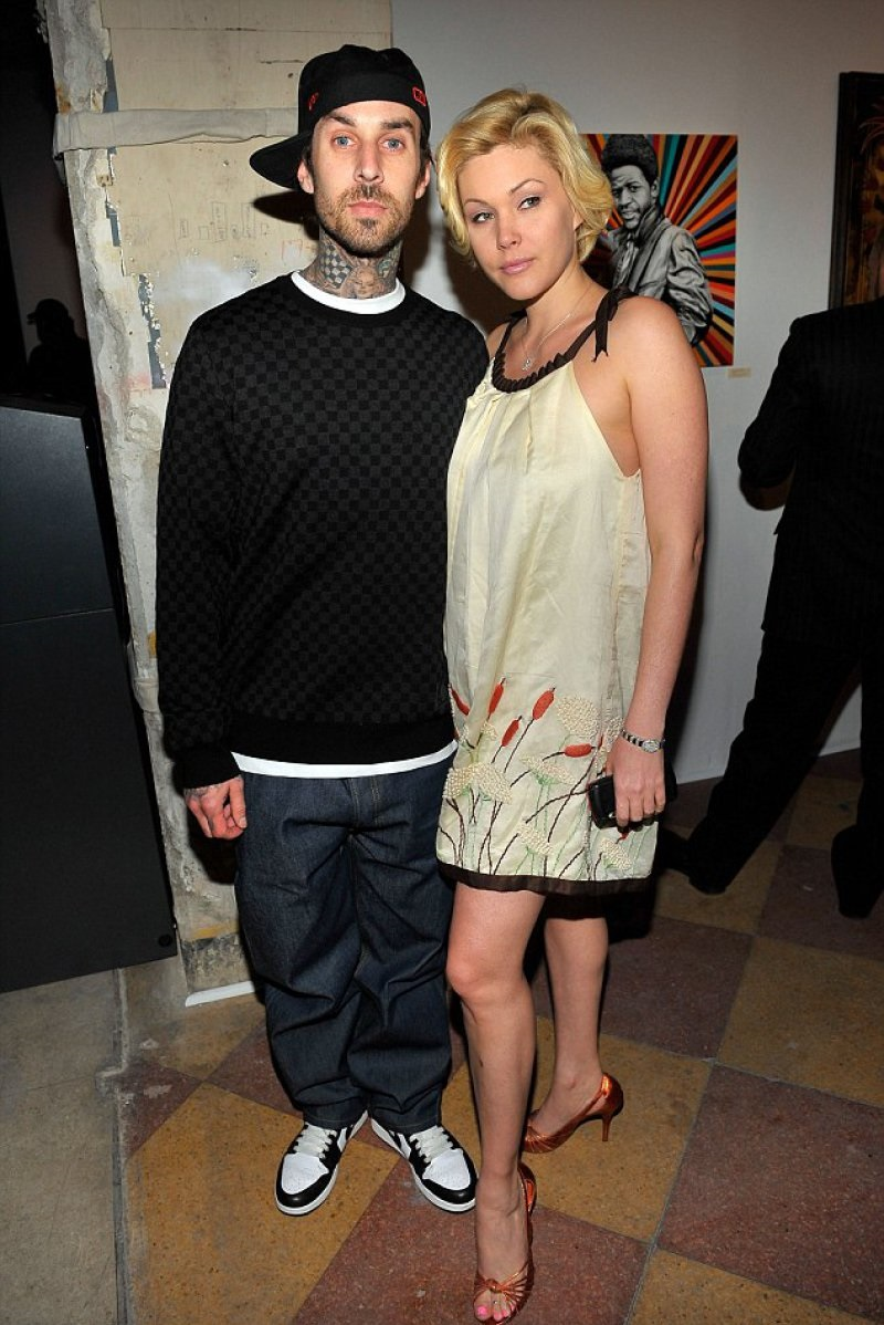 Travis Barker And Shanna Moakler-12 Celebrities Who Remarried Their Exes