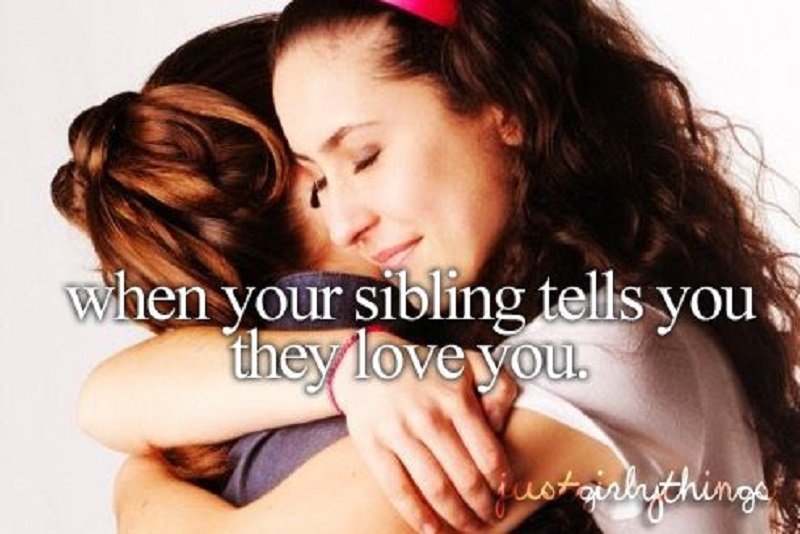 When They Tell You How Much They Love You-15 Hilarious Images You Can Relate To If You Have Siblings