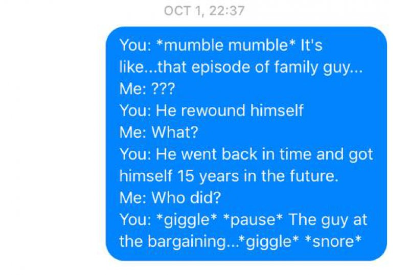 This Hilarious and Totally Random Talk -Wife Texts All The Things Her Husband Says In His Sleep(12 Photos)