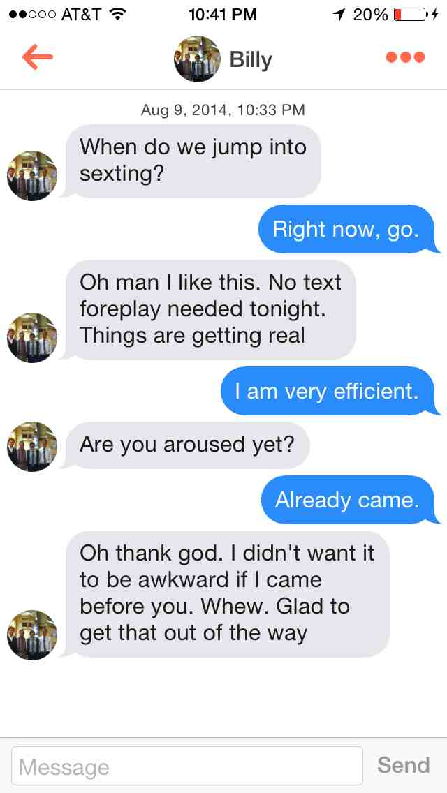They Came Too Soon-15 Times Sexting Went Wrong