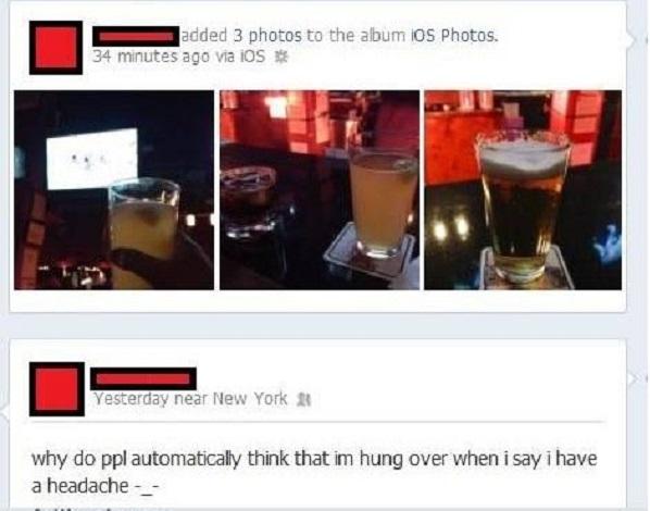 This Hypocrite-15 Hilarious Facebook Drunk Posts