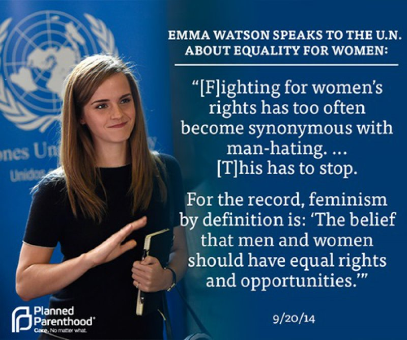 Emma Watson on Gender Equality-15 Reasons Why Emma Watson Is The Perfect Beauty With Brain Girl