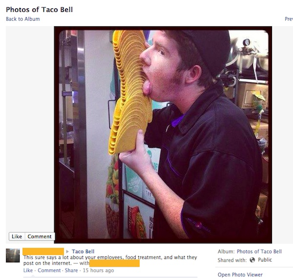 This Taco Licker at Taco Bell-15 Times Employees Got Fired By Their Boss