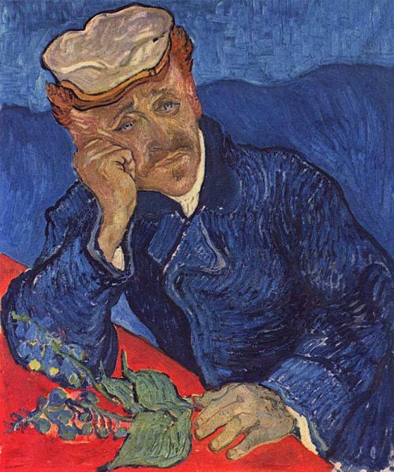 Portrait of Dr. Gachet, 1890 by Vincent Van Gogh (4 Million)-15 Ridiculous Paintings Sold For Millions Of Dollars