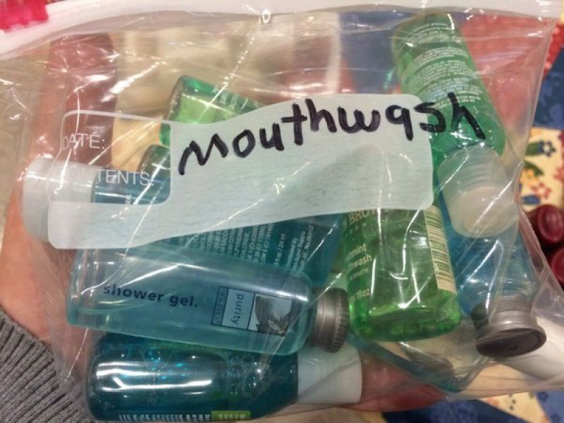 That's a Good Collection of Mouthwashes, Oh Wait-15 Terrible Accidents Waiting To Happen