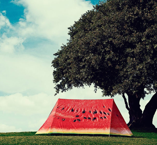 Watermelon Camping Tent-15 Perfect Gift Ideas For Food Lovers