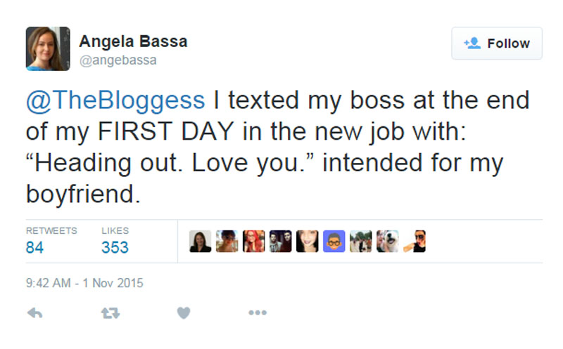 This Unexpected Text from a New Employee to a Boss-15 People Share Their Most Awkward Moments Ever