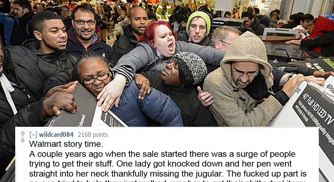 15 People Share Their Most Horrific Black Friday Stories