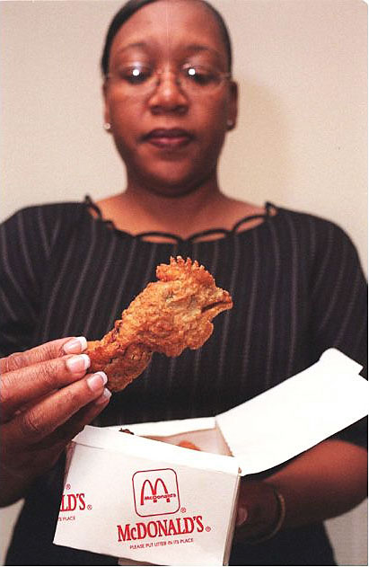 Real chicken head found in McDonalds Happy Meal-15 Most Disgusting Things People Ever Found In Their Food