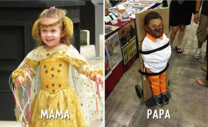 Cosplay - Mom vs. Dad-15 Hilarious Differences Between Mom And Dad