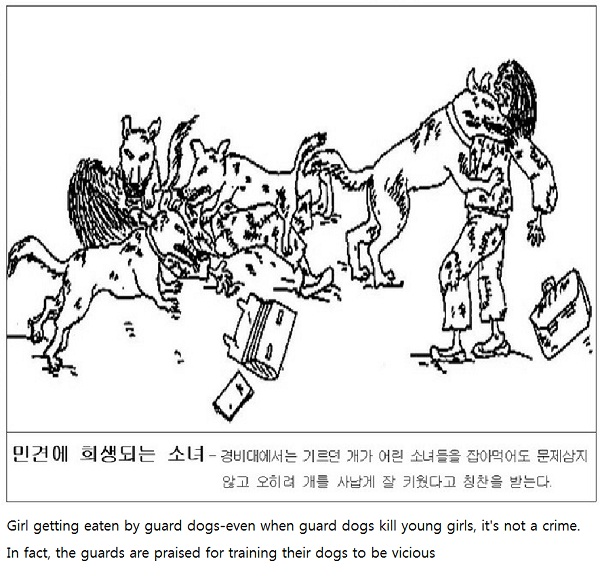 Fed to dogs-Life In North Korean Prison Camps