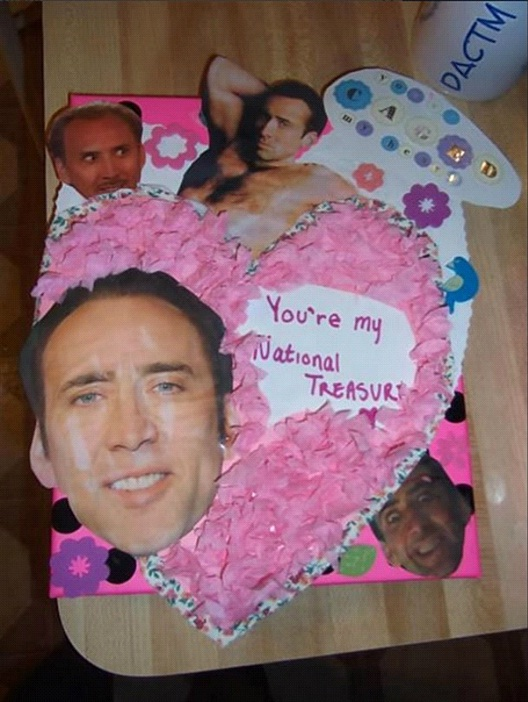National Treasure-Valentine's Day Cards That You Should Not Give Your Partner