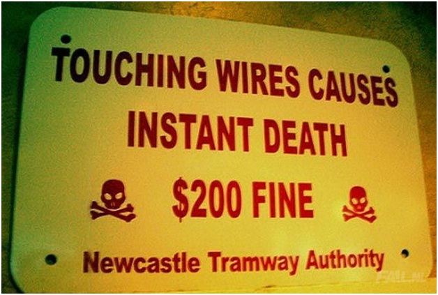 Fined For death-Stupidest Warning Labels