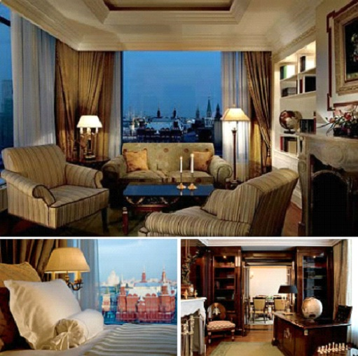 Ritz-Carlton, Moscow - Ritz-Carlton Suite - $18,000-Most Expensive Honeymoon Destinations In The World