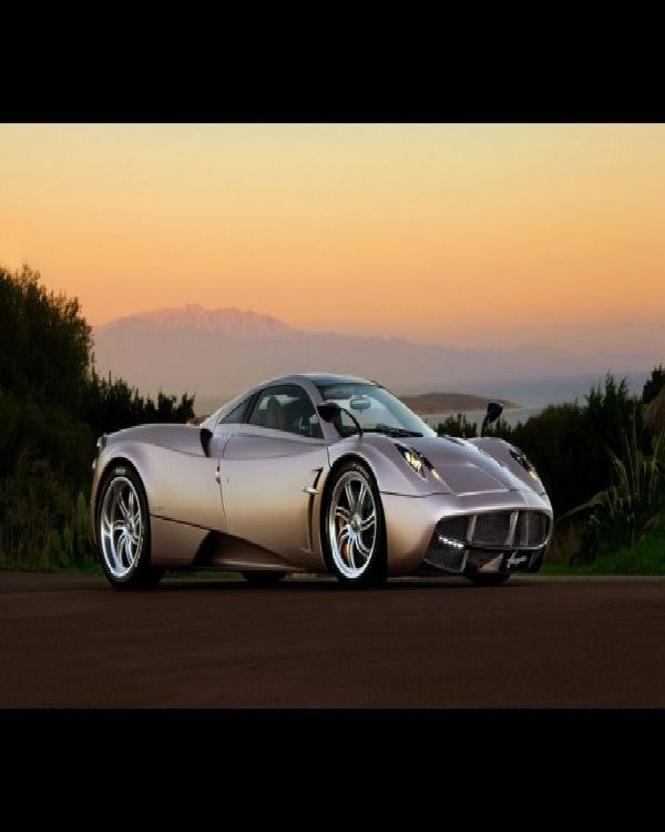 Pagani Huayra-Most Expensive Cars In The World