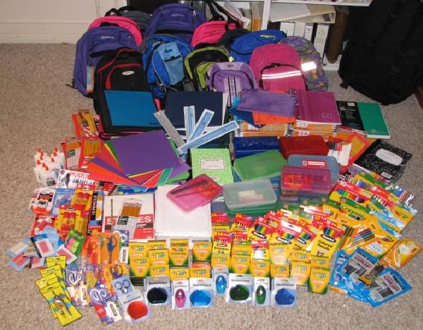 School supplies-Best Things To Buy In October