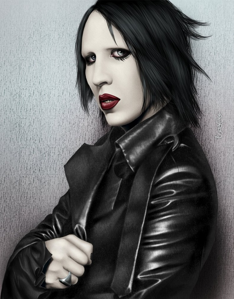 Marilyn Manson vs. A security guard-Most Stupid Lawsuits In Music