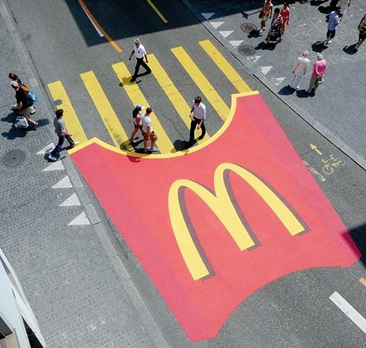 McDonald's Fries-Most Creative Street Ads