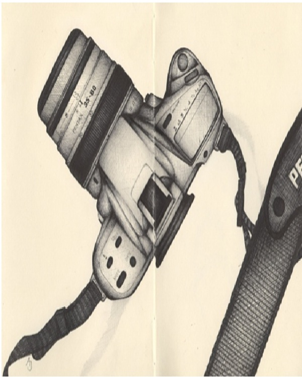 Camera-Amazing Pen Drawings