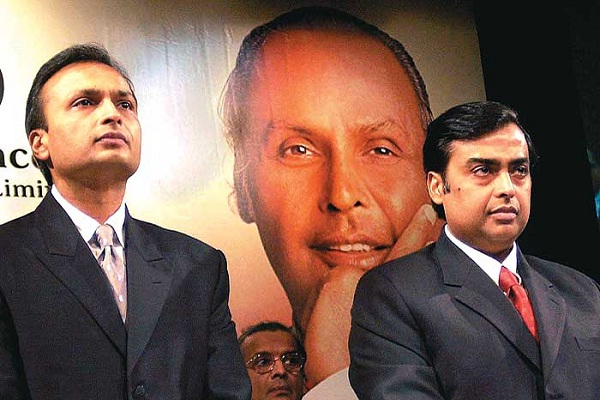 Anil & Mukesh Ambani-Billionaires Who Lost Billions