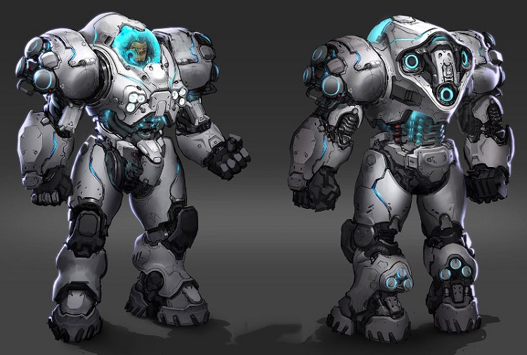 Starcraft 2 - Combat suit-Coolest Suits Of Armor