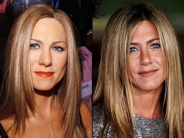 Jennifer Aniston-Celebs With Their Wax Statues