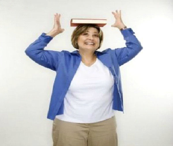 Walk With A Book On Your Head-Tips To Improve Your Body Posture