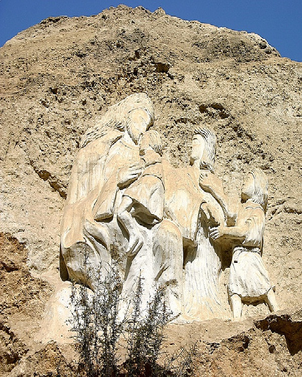 Cairo-Amazing Mountain Carvings