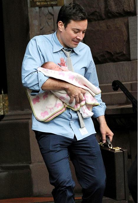 Jimmy Fallon-Celebrity Babies Born In 2013