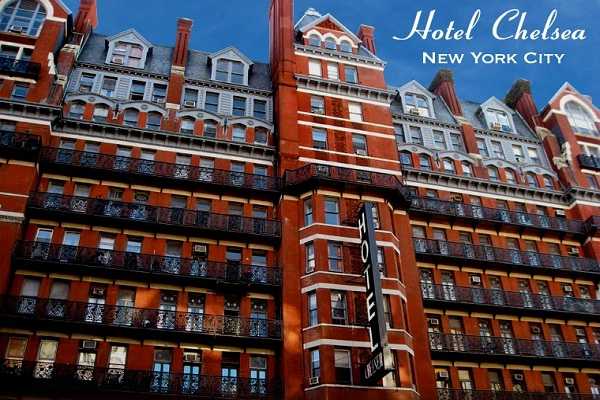 Hotel Chelsea, New York-Most Famous Hotels Around The World
