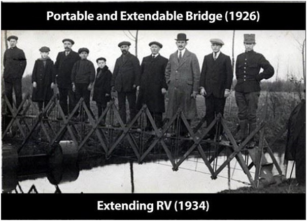 Portable Bridge-Strangest Historical Inventions