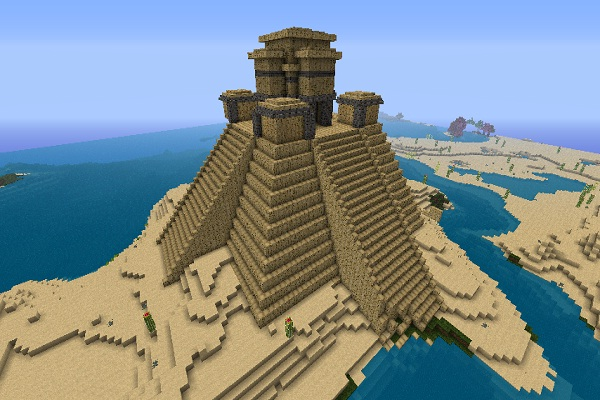 Mayan temple-Cool Things To Make In Minecraft