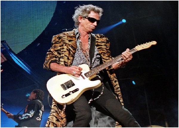 Keith Richards's Middle Finger-Celebrity Body Parts Insured For Millions