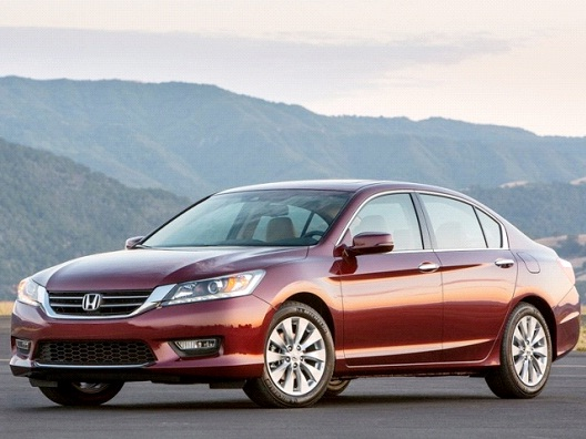 Honda Accord-America's Most Stolen Cars