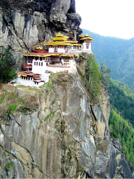 Tiger's Nest Monastery - Bhutan-Most Beautiful Architectural Structures In The World