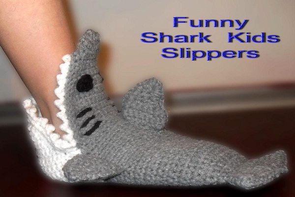 Sharks eating you-12 Craziest Slippers You'll Ever See
